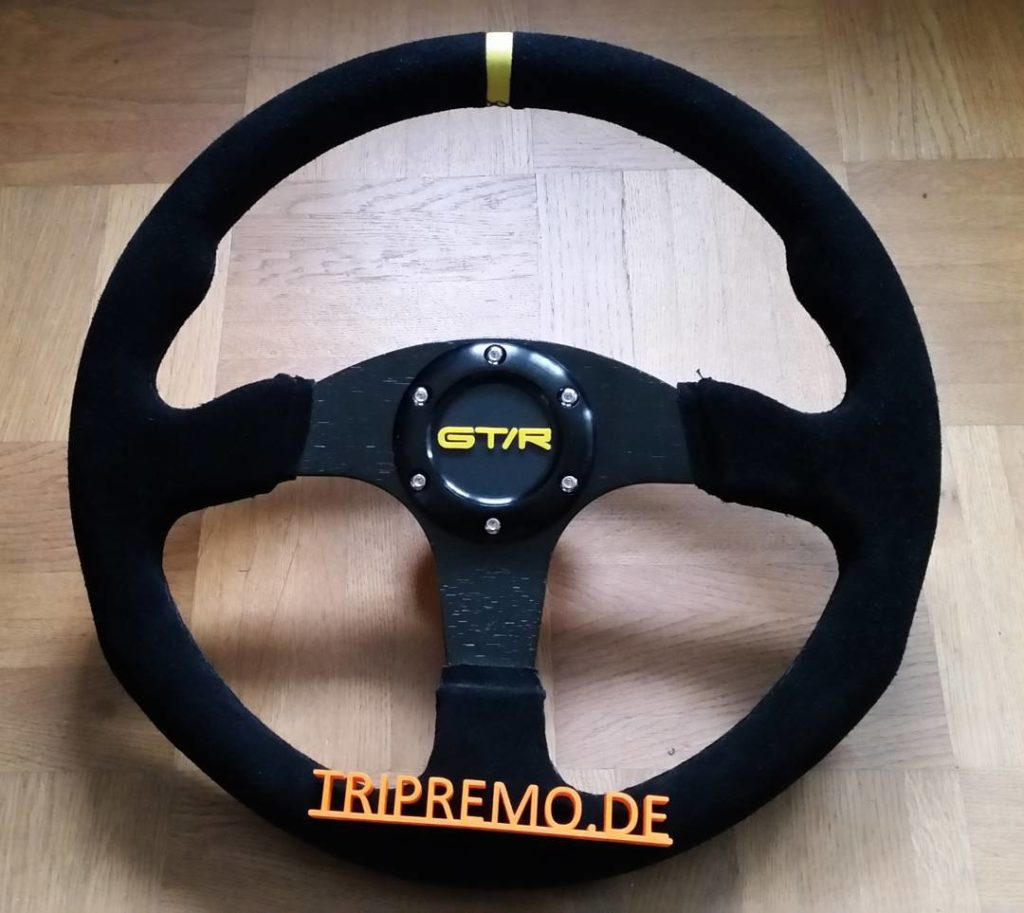 Steeringwheel with GTR for Hovemann yellow phycho III ultimaker tripremohellip
